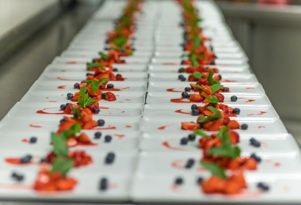 Frisch vom Erdbeerfeld und dann mariniert