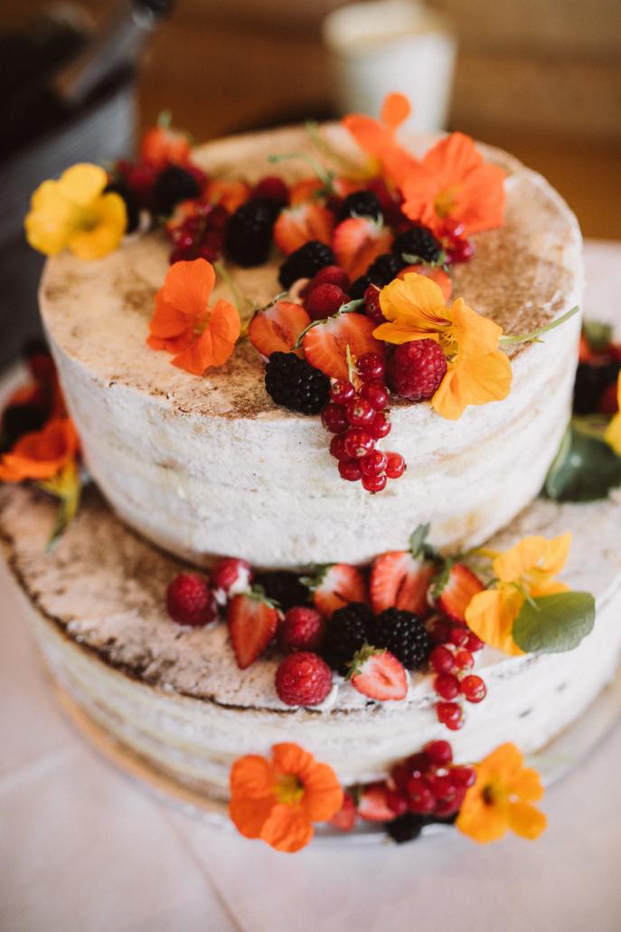 Hochzeitstorte - Naked Cake