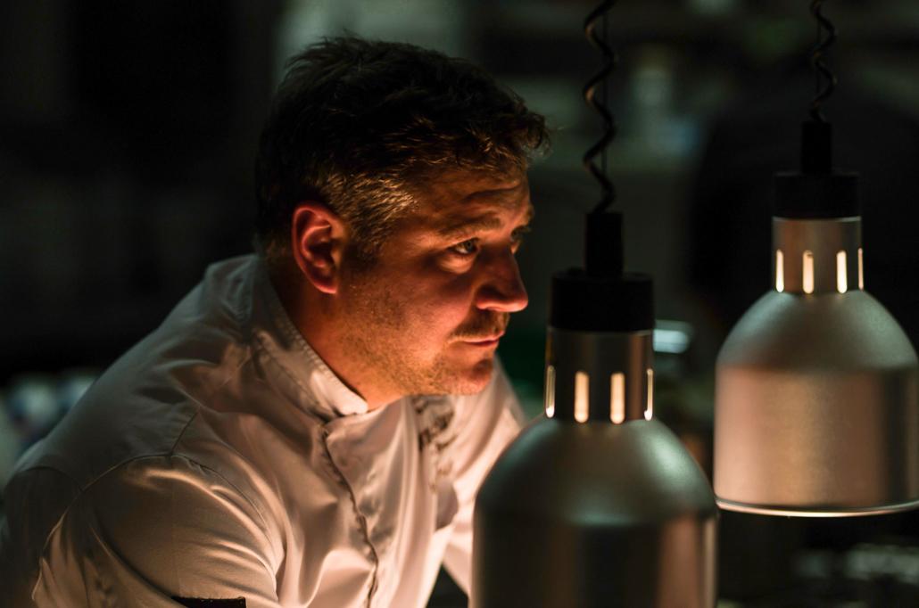 Die Küche im Blick- Chef Hans Müller