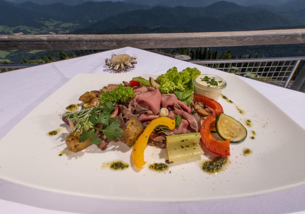 Roastbeef mit Grillgemüse